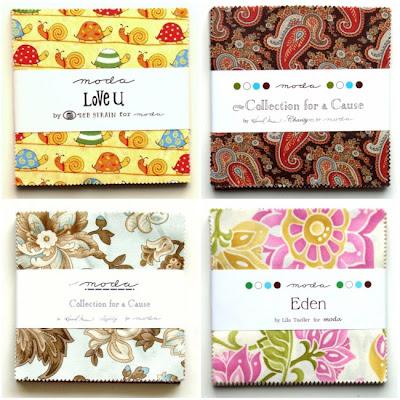 Reuvinger quilt en hobby moda charm pakketjes