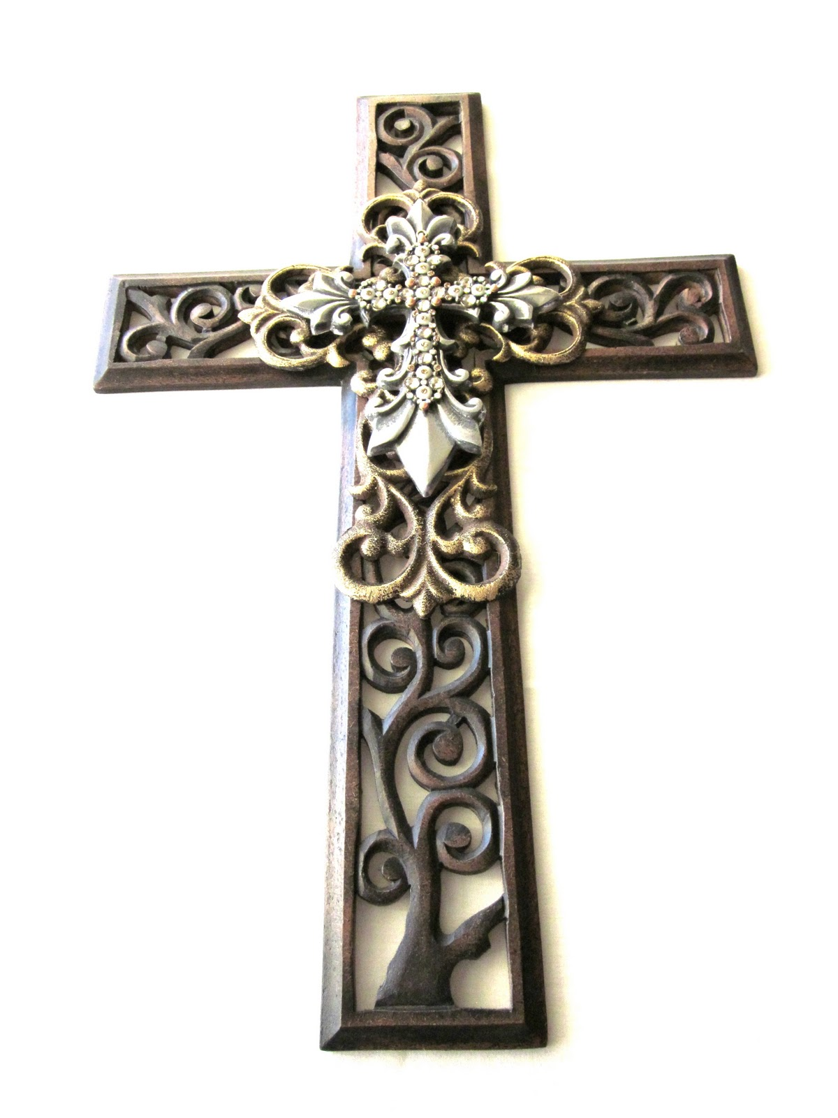 Cross wall decor 28 images wood cross for your cross for Cross wall decor ideas