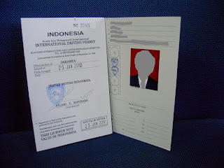 Contoh SIM INTERNATIONAL
