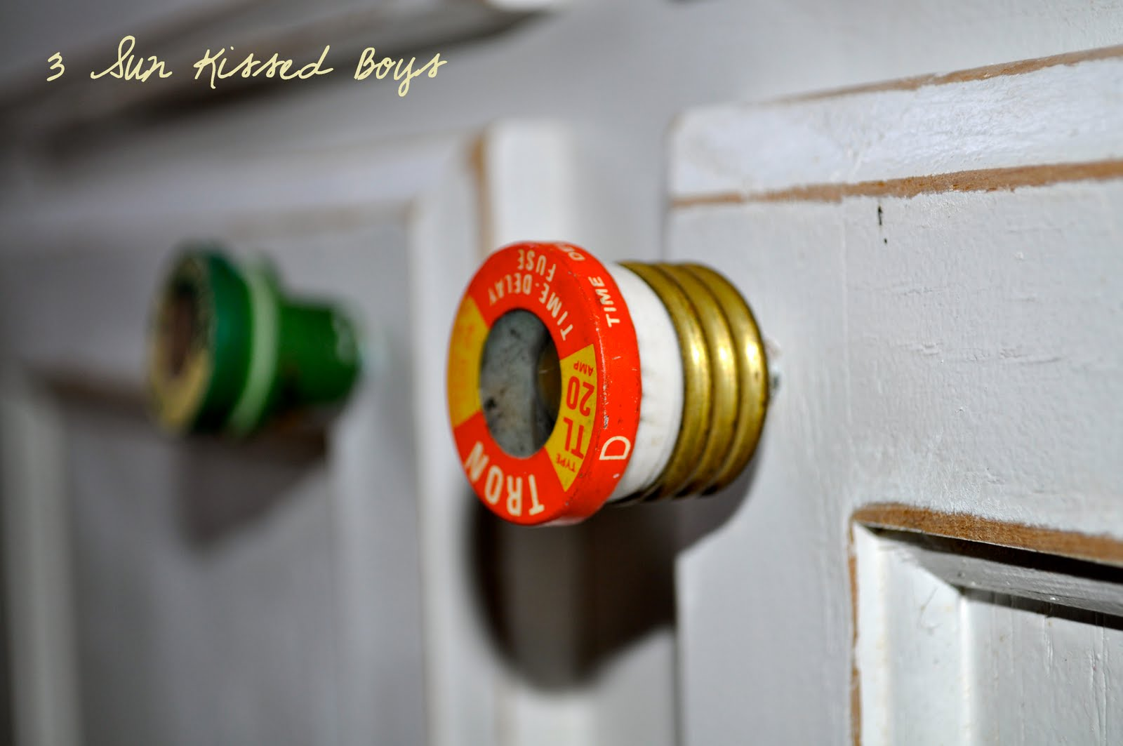 Diy Cabinet Knobs 3 Sun Kissed Boys