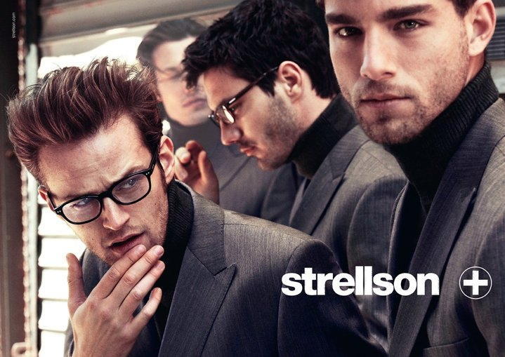 guys with glasses strellson collection fw11. Black Bedroom Furniture Sets. Home Design Ideas