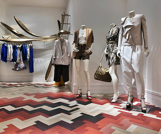 Concept interiors stella mccartney flagship store milano for Fashion design milano