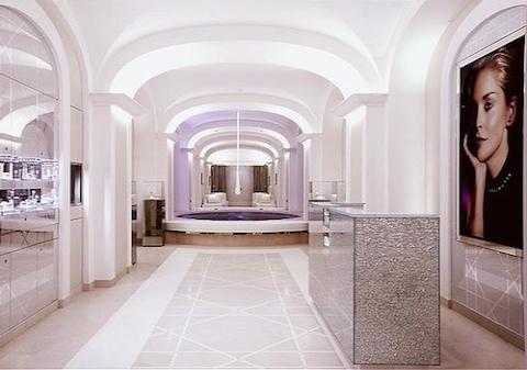 concept interiors dior institute paris oh la la. Black Bedroom Furniture Sets. Home Design Ideas
