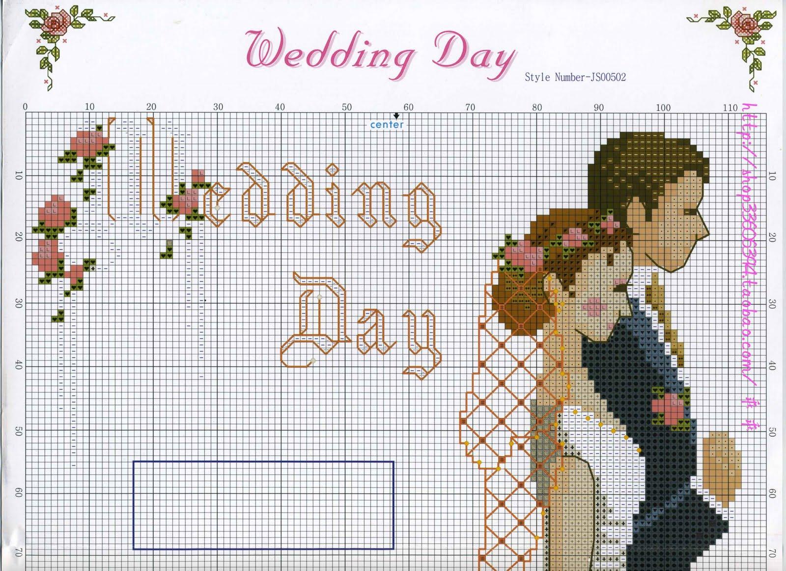 Схемы свадебных метрика
