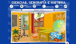 Ir a: Ciencias, Geografía e Historia -- Selección de Mundo Primer Ciclo