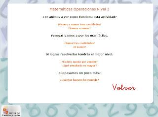 Ir a: 6-8 años Matemáticas Operaciones
