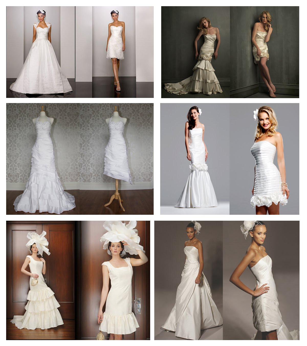 1st Row From Left Dress 260 By MartinaLiana Style 8700 AllureBridals