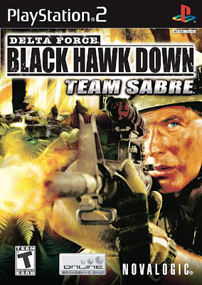 Categoria playstation 2, Capa Delta Force: Black Hawk Down Team Sabre (PS2)