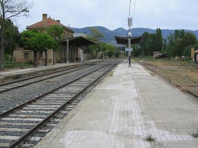 La estación de Ayerbe