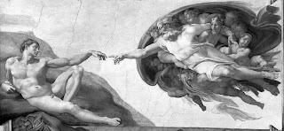 Capilla Sixtina, Dios creando a Adán