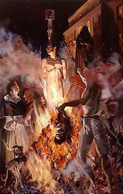 La libertad de pensamiento envuelta en llamas