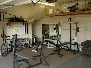 Garage Workout Room Ideas / Garage Gym