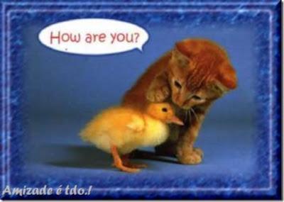 How are you? Uma perguntinha good news para você.