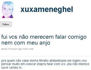 Twitter da Xuxa