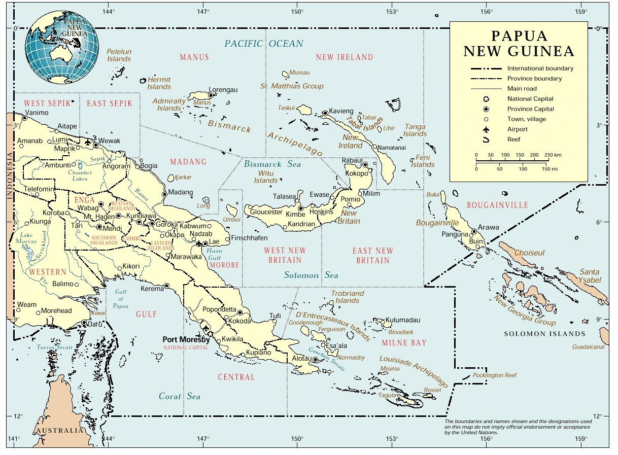 Putting Papua New Guinea on the map Putting Papua New Guinea on the map new images