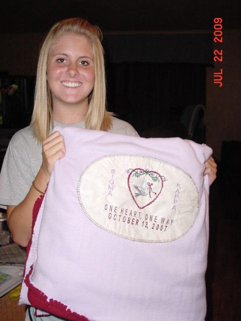 Jessica, July, 2009