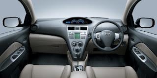 Interior Toyota Vios 2009