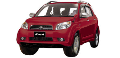 Warna Toyota Rush - Red Mica Metallic