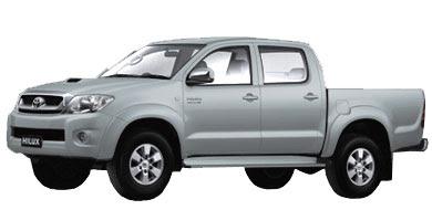 Pilihan Warna Toyota New Hilux - Silver Metallic