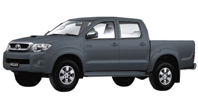 Pilihan Warna Toyota New Hilux - Dark Grey Mica