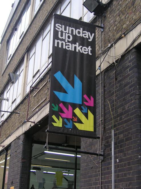 sunday up market, london, abril 2008