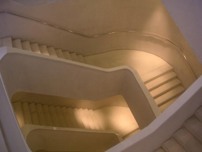 caixa fórum stairs, madrif, juliol 2008