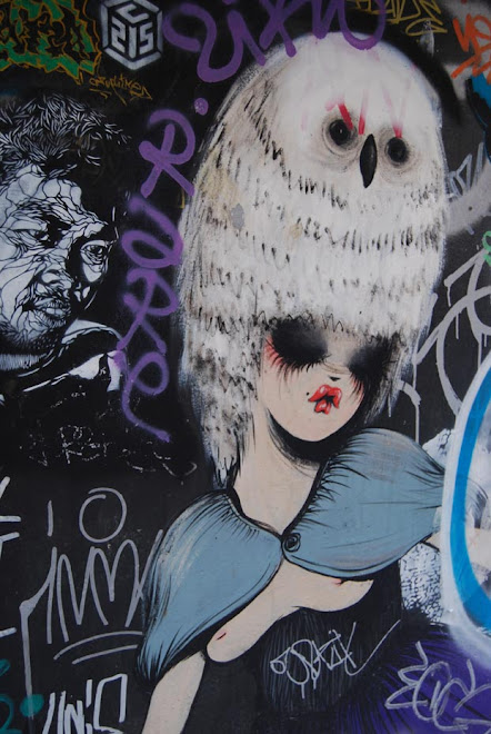 stencil, barcelona, octubre 2008