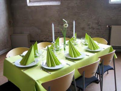borddækning til 60 års fødselsdag