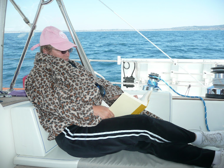 Sailing with my Snuggie