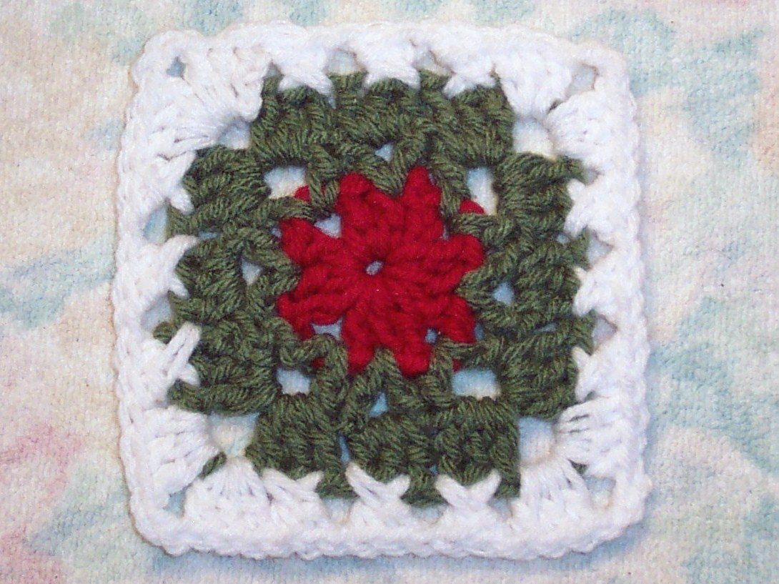 Smoothfox Crochet And Knit Smoothfoxs Granny For Christmas Square