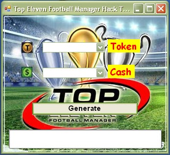 Top Eleven Football Manager Hack Token Cash