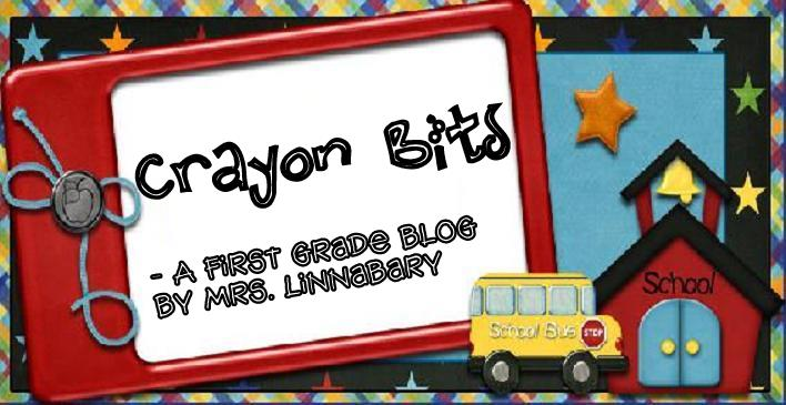 Crayon Bits - a first grade blog