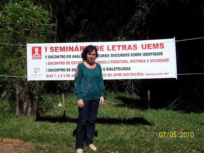1º Seminário de Letras  da U.E.M.S