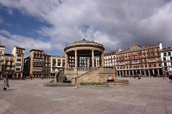 webcam plaza castillo pamplona: