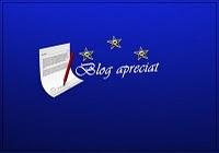 Premio Aprecio tu blog