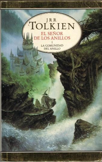 Tolkien el señor de los anillos libros