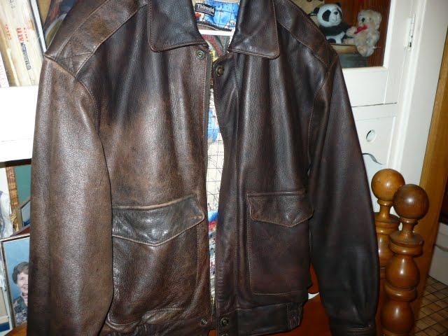 Leather jacket restorer