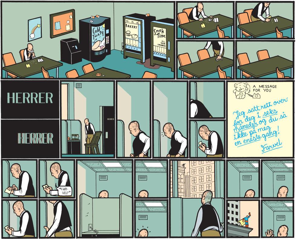 norsk tegneserie sexklubb i oslo