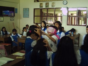 One of class activities at Children Class