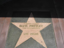 Elvis on Vegas Walk of Stars