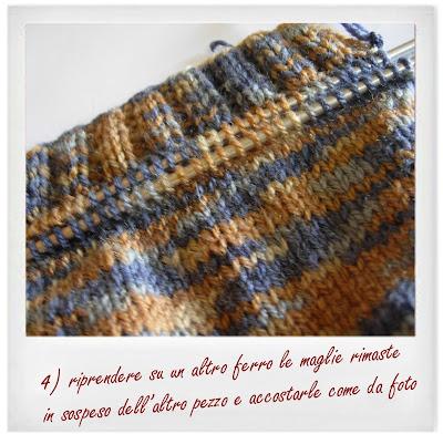 tutorial maglia ferri