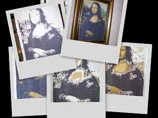Monalisa, Leonardo da Vinci, por Edidene