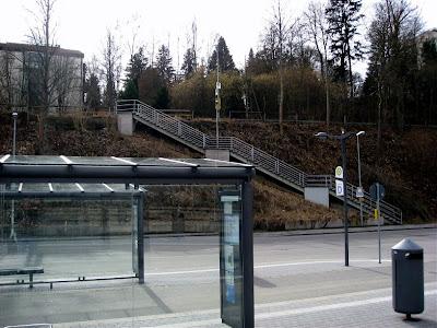 67 steps to Eisenbahnstraße