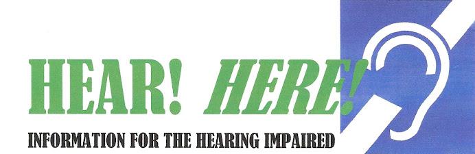 HEAR! HERE!