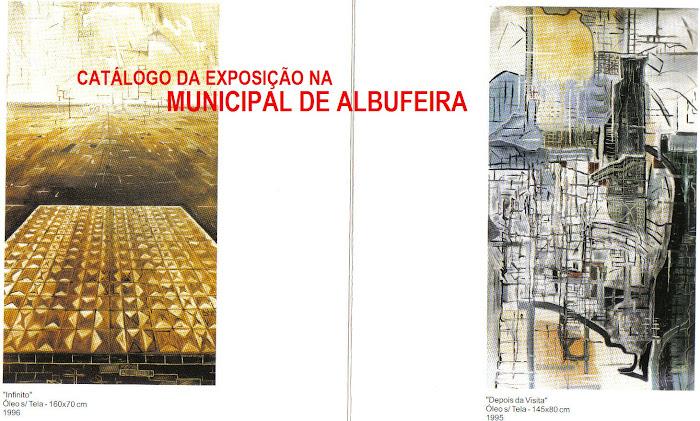 2001 CATÁLOGO DA EXPOSIÇÃO NA GALERIA MUNICIPAL DE ALBUFEIRA