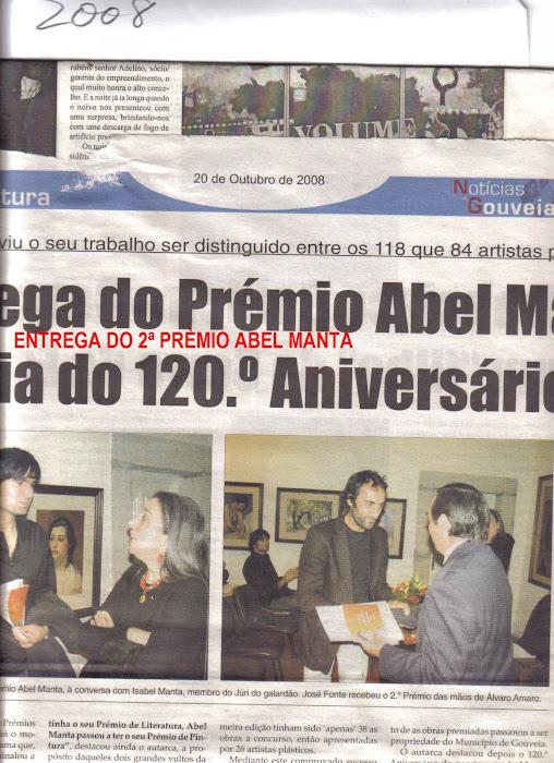 2008 NOTICÍA JORNAL DE GOUVEIA 2º PRÉMIO