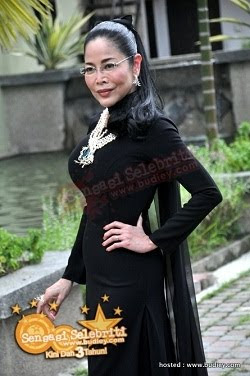 Anita Sarawak new photo. She looks very beautiful in black