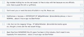 Maria Farida vs Shahz Jaszle Twitter war