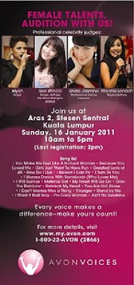 Avon Voices Audition