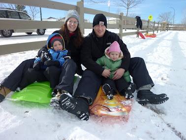 Family Sledding Day